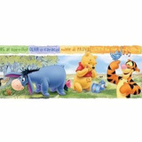 Papel Guarda Muresco Empapelado Vinilico Disney Winnie Pooh