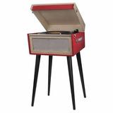 Reproductor De Vinilos Tocadisco Vintage Mod Okn-085 C/ Pie