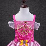Vestido Fantasia Infantil Bela E A Fera Tam.5