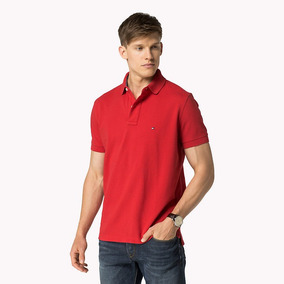 Camisa Polo Tommy Hilfiger Stretch Masculino Original