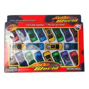 Blister Autitos Juguete X20 Ideal Niños 1:64 Auto World