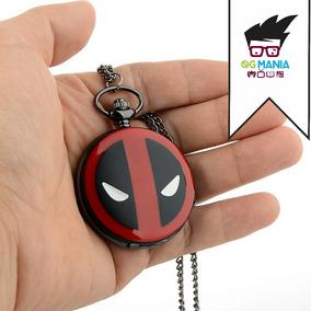 Relógio De Bolso Deadpool Com Caixa De Relógio De Bolso