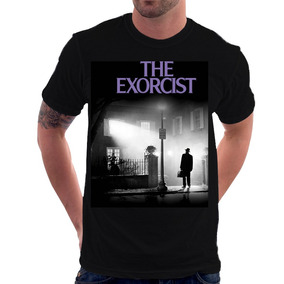 Camiseta O Exorcista Terror Cult Horror Poster