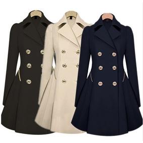 Sobretudo Feminino Trench Coat Importado Frete Grátis 15-60