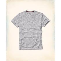 Camiseta Hollister Surf Masculina Gola V Nova Original Impor