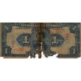 Cédula Um Mil Réis R 077 No Estado