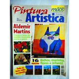 Revista Mãos De Ouro - Pintura Artística Nº 50 Com Molde