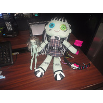 Muñeca Peluche Monster High Novia Frankie Stein