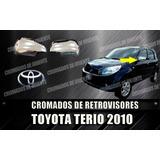 Coberto Cromado De Retrovisores Terio 2009 Al 2014