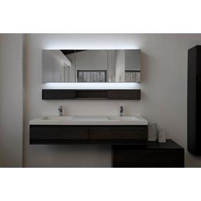 Espejos De Baño Con Luz Led | Espejo Para Bano Con Luz En Mercado Libre Mexico