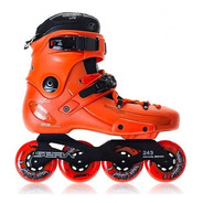Rollers Seba Fr1 Black Grey Orange Freeskate Liquido Ultimos