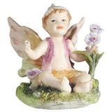 Figura De Bebé De Hada Sentado