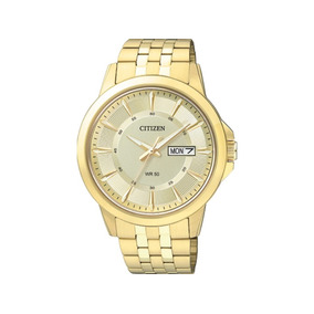 Relógio Citizen Dourado Masculino Social 5 Atm Tz20528g
