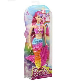 Barbie Reinos Magicos Sirena Surtido Arcoiris