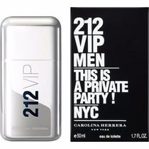 Perfume 212 Vip Men 50ml Masculino - Carolina Herrera