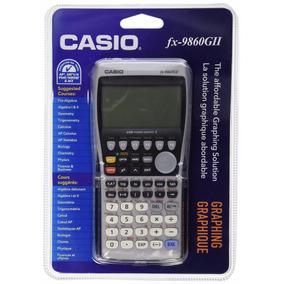 Casio Fx-9860gii Graficadora. Entrega Inmediata, Con Envío.
