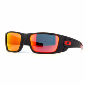 Oakley Ferrari Fuel Cell Matte Black Ruby Iridium Oo9096-a8