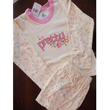 Pijamas Ovejita T2 Y T12 Para Niñas