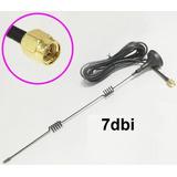 2.4ghz 7dbi Wifi Antena Magnética Conector Sma Cable 3m