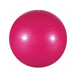 Bola Suiça Pilates Fisioterapia Fitness Yoga Rosa C/ Bomba!