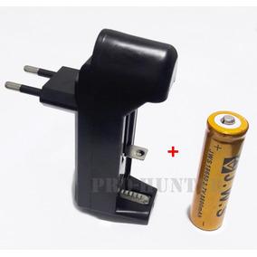 Kit Carregador + Bateria Recarregável Para Laser 301 Ou 303