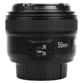 Lente Yongnuo Yn50mm F/1.8 - 50mm F/1.8 Motor Af Para Nikon