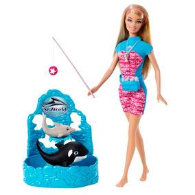 Barbie Quero Ser Treinadora Do Sea World - Mattel