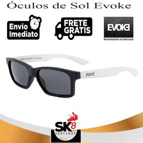 Oculos Evoke ( Preto E Branco ) Frete Gratis De Sol - Óculos De Sol ... 9ceb9dd1da