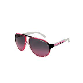 e14ce8de4384d Óculos De Sol Carrera 100% Proteção Uv Ópticas Melani Branco