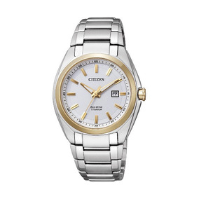 Reloj Citizen Eco-drive Supertitanium Dama Ew2214-52a