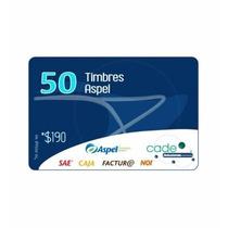 50 Timbres Cfdi Aspel Facture, Caja, Sae O Noi (electronico)