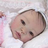 Bebê Reborn Bruna Barata Detalhes Reais Parece De Verdade