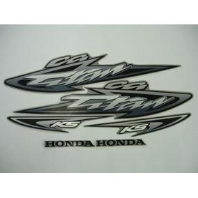 Kit Adesivos Honda Cg Titan 125 Ks 2003 Prata