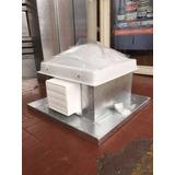 Claraboya Completa Para Losa Con Extractor 4 40x40 Fija