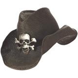 Trajes De California Sombrero De Vaquero, Negro, Un Tamaño
