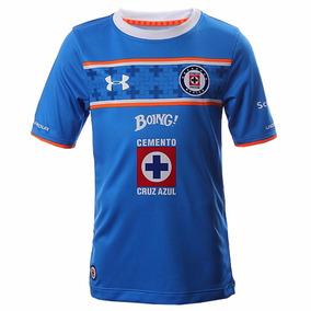 Playera Jersey Cruz Azul 15/16 Niño Under Armour Ua1501
