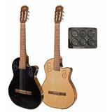 Guitarra La Alpujarra 300kec Cuerdas Nylon Eq Fishman Ink