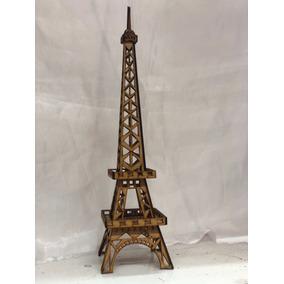 Torre Eiffel Mdf 40 A 45 Cm. De Alto
