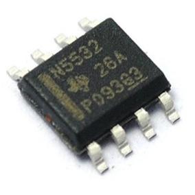 Ne5532 Sop-8 Smd Amplificador Operacional