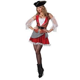 Incharacter Disfraz Pretty Pirata Mujer