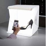 Caja De Luz Con Led Para Fotografía 24cm Envio Gratis