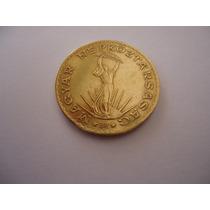 Moeda Estrangeira Bronze Alumínio 10 Dez Forint 1986 Hungria