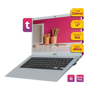 Notebook Intel Celeron 8gb Ram Solido Ssd 480gb 14 Hd Win10