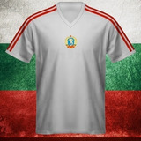 Camisa Retrô Bulgaria Branca