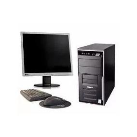 Cpu Completa Dual Core/ 1 Gb / Hd 80 /monitor 15