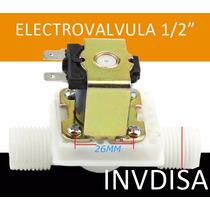 Válvula Solenoide Electroválvula Agua 1/2 12vcd No