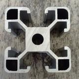 Perfil De Aluminio Estructural 40x40 Ranurado