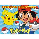 Kit Imprimible Pokemon Diseña Tarjetas Cumpleaños Invitacion