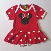 Body Fantasia Minnie Para Bebês