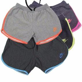 Kit Com 3 Shorts Nike Feminino Academia Roupas Femininas
